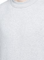 Vintage fleece cotton blend sweatshirt