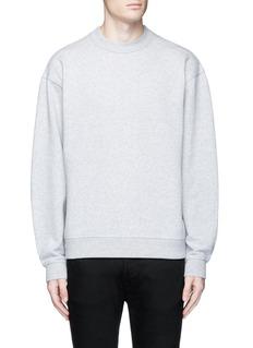 T By Alexander WangVintage fleece cotton blend sweatshirt