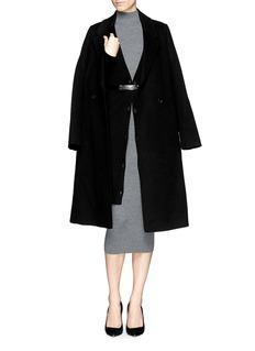 THEORY'Emra' cashmere long cardigan