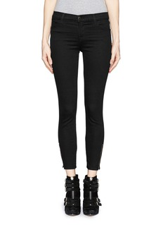 J BRAND 'Photo Ready Tali' zip skinny jeans