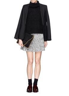 THEORY'Gida K' space dye wool flare skirt