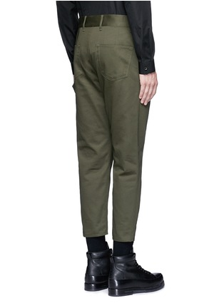 Back View - Click To Enlarge - Balenciaga - Slim fit cotton cargo pants