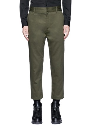 Main View - Click To Enlarge - Balenciaga - Slim fit cotton cargo pants