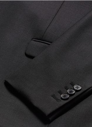 Neil Barrett-Slim fit stretch gabardine suit