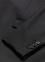 Slim fit stretch gabardine suit