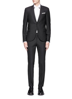 Neil Barrett Slim fit stretch gabardine suit