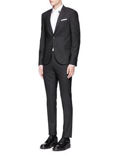 Neil BarrettSlim fit stretch gabardine suit