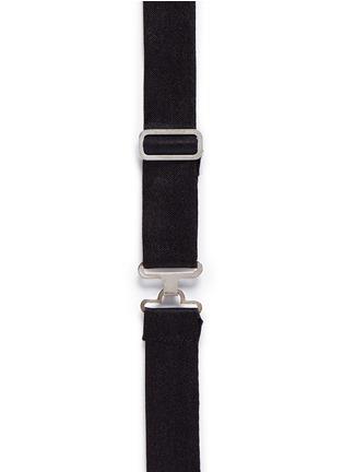 Neil Barrett-Eco leather bow tie