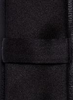 Eco leather tie