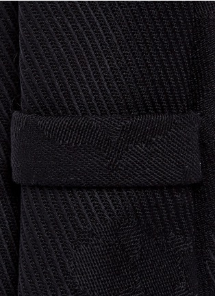 Detail View - Click To Enlarge - Neil Barrett - Keffiyeh check camouflage tie