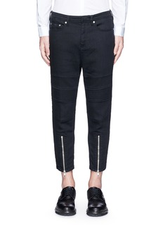 Neil Barrett Japanese jersey denim pants