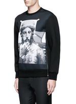 'Tattoo Sculpture' print sweatshirt
