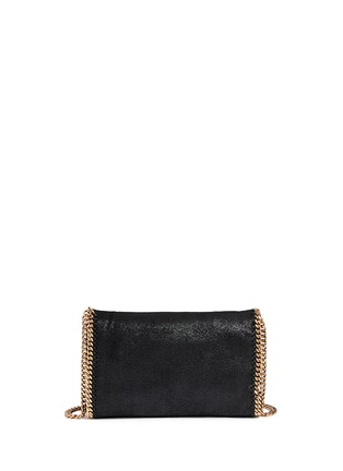 Back View - Click To Enlarge - Stella McCartney - 'Falabella' mini shaggy deer crossbody chain bag