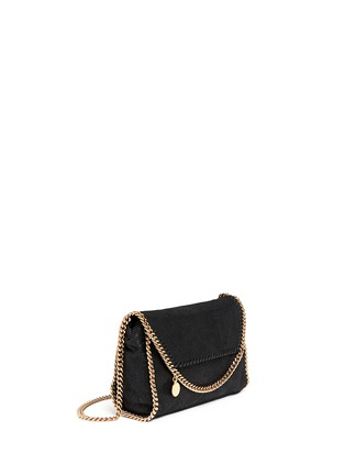 Front View - Click To Enlarge - Stella McCartney - 'Falabella' mini shaggy deer crossbody chain bag