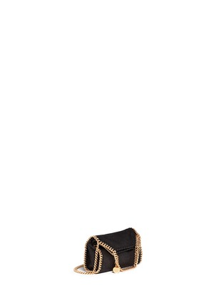 Stella McCartney - 'Falabella' tiny shaggy deer crossbody chain tote
