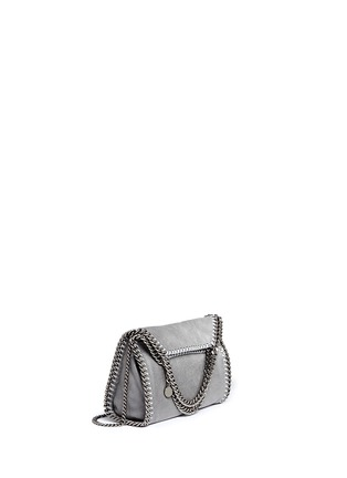 Stella McCartney - 'Falabella' mini shaggy deer crossbody chain tote