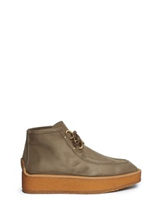Stella McCartney 'Brody' faux suede loafer boots