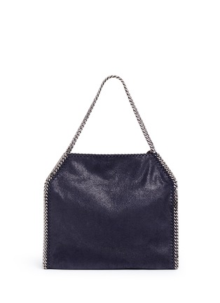 Back View - Click To Enlarge - Stella McCartney - 'Falabella' small shaggy deer chain tote