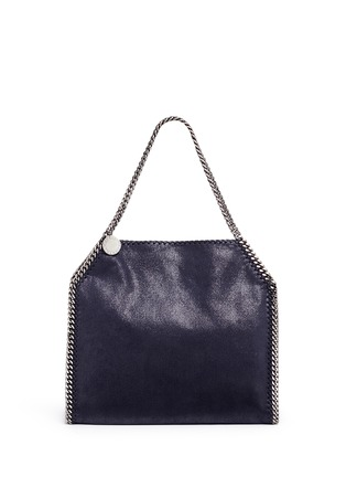 Main View - Click To Enlarge - Stella McCartney - 'Falabella' small shaggy deer chain tote