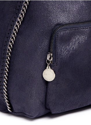 Detail View - Click To Enlarge - Stella McCartney - 'Falabella' small shaggy deer chain backpack