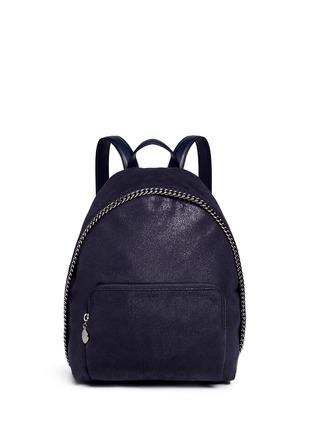 首图 - 点击放大 - STELLA MCCARTNEY - 'Falabella' small shaggy deer chain backpack