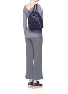 Stella McCartney'Falabella' small shaggy deer chain backpack