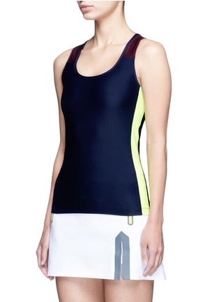 Front View - Click To Enlarge - Laain - Arrow colourblock tank top