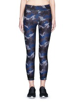 Camouflage performance jersey 3/4 leggings