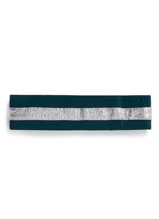 Main View - Click To Enlarge - No Ka'Oi - 'Heihei' foil stripe stretch headband