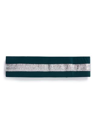 No Ka'Oi-'Heihei' foil stripe stretch headband