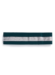 No Ka'Oi 'Heihei' foil stripe stretch headband