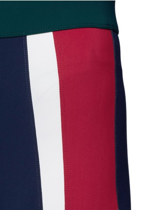 Detail View - Click To Enlarge - No Ka'Oi - 'Kihi' colourblock performance leggings