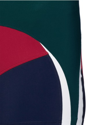 Detail View - Click To Enlarge - No Ka'Oi - 'Haku' colourblock performance shorts