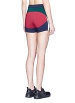 'Haku' colourblock performance shorts
