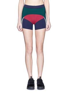 No Ka'Oi'Haku' colourblock performance shorts