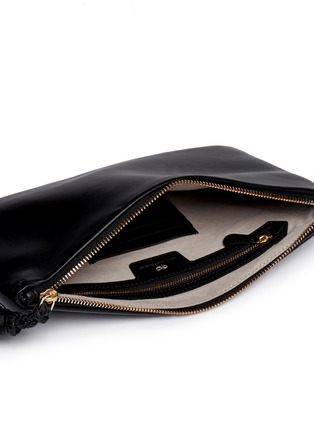 Detail View - Click To Enlarge - Anya Hindmarch - 'Georgiana' leather clutch