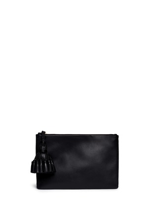 Main View - Click To Enlarge - Anya Hindmarch - 'Georgiana' leather clutch