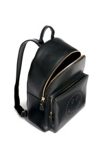 'Smiley' leather backpack