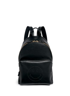 Anya Hindmarch'Smiley' leather backpack