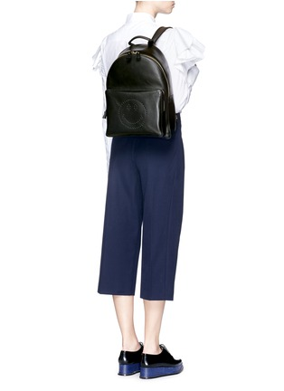 Anya Hindmarch-'Smiley' leather backpack