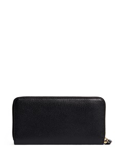 ANYA HINDMARCH 'No Entry' leather zip continental wallet