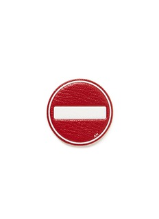 Anya Hindmarch x Chaos Fashion 'No Entry' leather sticker
