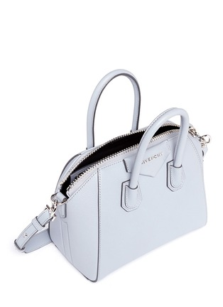 Detail View - Click To Enlarge - Givenchy - 'Antigona' mini leather bag