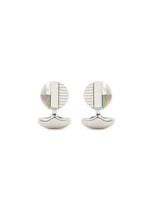 Main View - Click To Enlarge - Babette Wasserman - 'Rotary' reversible cufflinks
