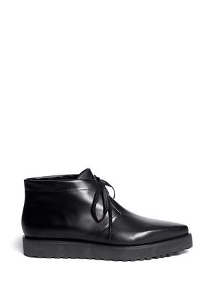 Main View - Click To Enlarge - Alexander Wang  - 'Anita' leather chukka boots