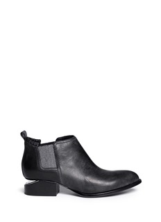 ALEXANDER WANG  'Kori' cutout heel leather Chelsea boots