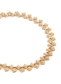 Buccellati Diamond 18k gold necklace