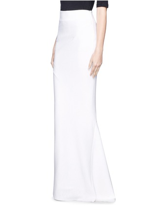 Front View - Click To Enlarge - Haider Ackermann - Asymmetric hem maxi skirt