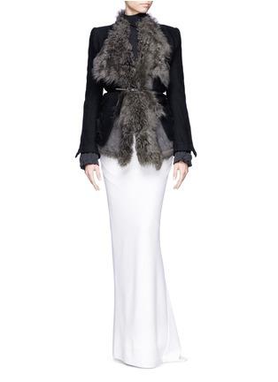 Haider Ackermann-Asymmetric hem maxi skirt