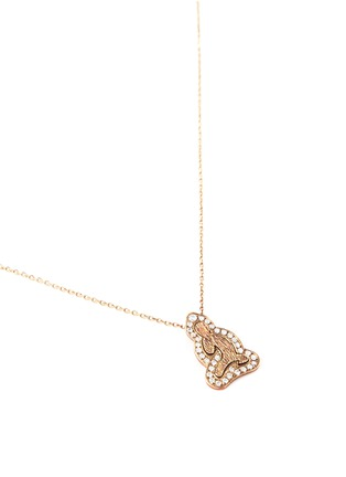 Bao Bao Wan - 'Little Buddha' 18k gold diamond necklace